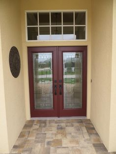 Charmant Decorative Door Glass Inserts, Add Glass To Existing Doors To Create Curb  Appeal.