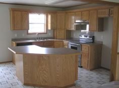 angled island in kitchen | design idea | pinterest