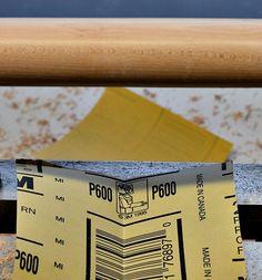 sanding - after using 600 grit paper