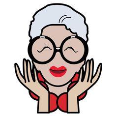 Iris Apfel emojis | Iris Apfel's Emojis Represent the Fashion Icon's Unique Style