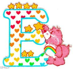 ❤️Care Bears and Friends ~ The Letter E