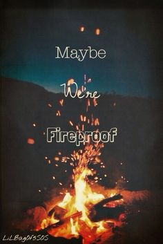 Fireproof -- One Direction Lyrics