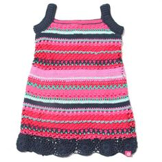 Kinderkleding: Bomba crochet dress koop je bij MooieMerken.nl