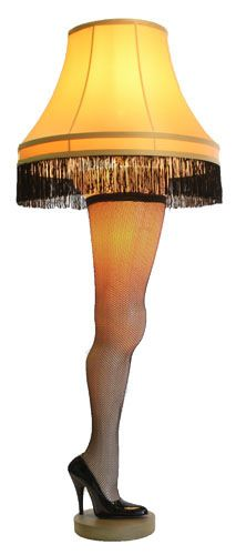 "My husband just won this lamp. What on earth am I going to do?RetroFestive.ca - The Major Award Leg Lamp (50"") - Free Shipping, $249.99(http://www.retrofestive.ca/the-major-award-leg-lamp/)"