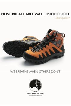 MOST BREATHABLE WATERPROOF BOOT - BACKPACKER - Optimized for long distance  hiking in wet  amp  e32a590aad
