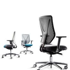 Why Task Chair has an innovative honeycomb mesh back, providing striking looks combined with lightness and flexibility. Connection Why Office Task Chair has an intelligent, ergonomic design for all-day comfort and is easily adjustable for a multi-user workplace.