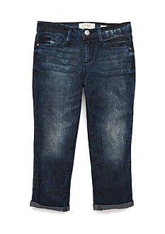 Jessica Simpson Roll Cuff Crop Jeans Girls 7-16