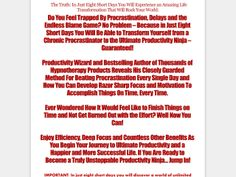 ① End Procrastination - http://www.vnulab.be/lab-review/%e2%91%a0-end-procrastination