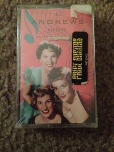 The Andrews Sisters Collector's Series Cassette Tape New Sealed swing