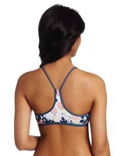 $44 Carve Designs Women's Catalina Bikini Top, Reef/Indian Teal, X-LargeFrom Carve Designs $44