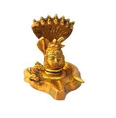 Modish Antique Hindu God Shiva Linga Puja Idol Brass Sculpture Figurine 3.5 Inch Modish http://www.amazon.in/dp/B00YAZ5QMS/ref=cm_sw_r_pi_dp_16v7vb1ZTTEWN