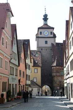 ✯ Town Gate Rothenburg, Germany
