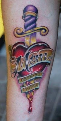 mom memorial tattoos