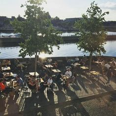 Maastricht has so many great terraces. The recently opened terrace of De Maastrichter Maltezer along the Maas is perfect for lovely summer evenings. Isn't the view amazing? Sunny Afternoon, Summer Evening, Terraces, The Locals, Be Perfect, City, Amazing, Places, Drinks
