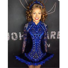 Dance Dresses, Blue Dresses, Formal Dresses, Just Dance, Dance Moms, Dance Hairstyles, Irish Dance, Dance Costumes, Dream Dress