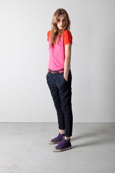 Spring Fashion-German Label Closed Spring 2012 Lookbook