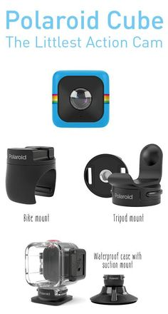Meet the Cube, a life-logging camera that's cute and fun like you, not bulky and boring! ($100)