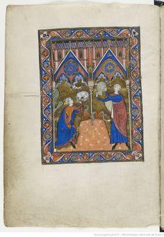 Psautier dit de saint Louis. | Gallica