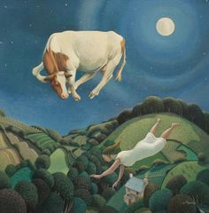 British Artist Jo MARCH-Gerda's Dream