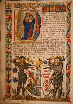 Carta executoria de hidalguia en favor de Francisco de Frias Granada, 1546, on vellum. Yet another Spanish confirmation of nobility.  Private Collection, Missouri, USA