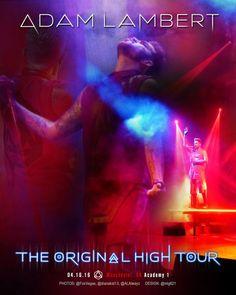 Unofficial Poster 4.16.16 Manchester, UK #TOHtour @adamlambert Photos @FoxVegas, @dianakat13, @ALAlwayz
