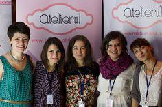 The great organizing team of Noaptea alba a creatorilor si designerilor de produs, a project created by us