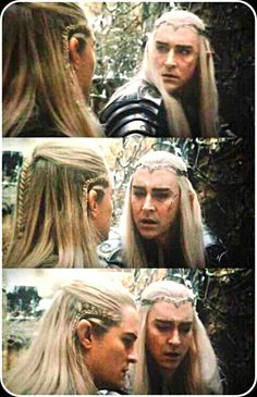 Agh why do I admire their father/son relationship so much? Talk about good character development. Though Legolas was not in the book, I feel it was a good addition in the films to further build his character. Here I go again with my character development lmao... I'm sorry, I'm a writer. It's what I do.