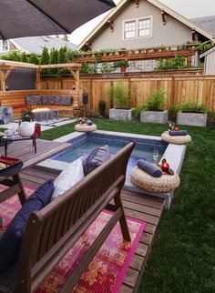 Spa fun - champagne . . .  http://www.paradiserestored.com/landscaping-blog/2014-exterior-design-reveal-hollywood-district-paradise-restored/