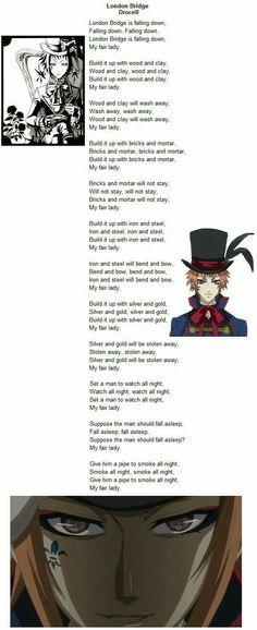 London Bridge lyrics. Who knew there were so many?