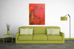Framed Abstract Painting. Abstract Art. Original by Outlook8studio