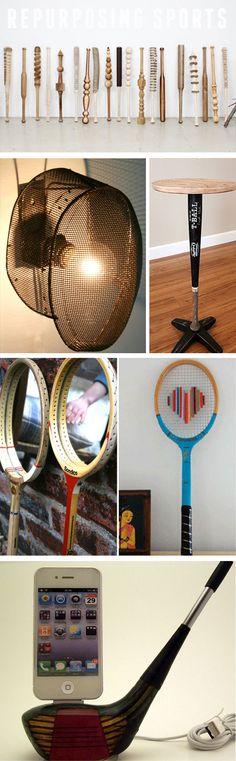 Fencing gear, baseball bat, golf club and more found a new use! #joynme