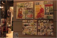 Para decorar a sua casa acesse a Adoro Presentes e adquira telas de todos os estilos! #telas #london #paris