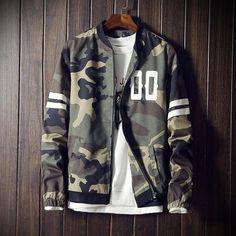 Camouflage Jacket Coat Men 2017 Spring Men's Clothes Fashion Bomber Jacket Man Style Baseball Male Windbreaker Jackets Coats 5XL