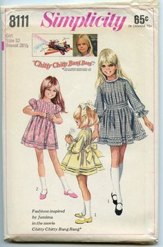 1960s Vintage Sewing Pattern Simplicity 8111 by GreyDogVintage, $9.00