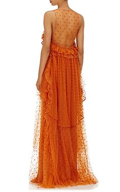 Chloé Swiss-Dot Tulle Gown - Gowns - Barneys.com