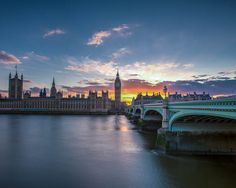 London Photography  Big Ben and Wesminster at by SolsticePhoto