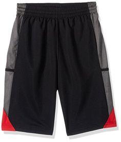 NBA Youth 8-20 Houston Rockets Tip Off Short, M(10-12), Black  https://allstarsportsfan.com/product/nba-youth-8-20-houston-rockets-tip-off-short-m10-12-black/  Officially licensed by the NBA Adidas logo on left leg Team logo on right leg