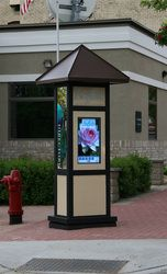 Outdoor Digital Signage Directory Kiosk Installed in Heart of Downtown Buffalo, MN