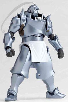 Amazon.com: Revoltech Yamaguchi : Full Metal Alchemist Alphonse Elric: Toys & Games