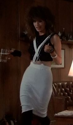 Kelly Lebrock in Weird Science -- best outfit ever. Kelly Lebrock Now, Kelly Labrock, Kelly Lebrock Weird Science, Weird Science Movie, Science Costumes, Hobbies For Women, 80s Fashion, Costume Design, Beautiful People