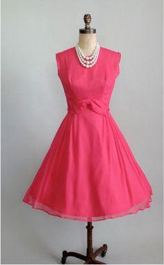 50 best vintage pink dresses images  dresses vintage