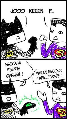 Batman não sabe brincar