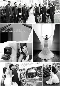 Melinda Mercer Photography http://www.melindamercer.com/  Wedding of Whitney & Chris Newman Location - Portier House 7 Space 301 Black and White, Photojournalism
