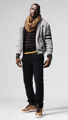 lebron james fashion | NIKE LeBron X 'Cork edition' sneakers from the LeBron James ...