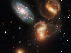 A clash among members of a famous galaxy quintet.