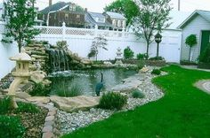 Beautiful Backyard Fish Pond Landscaping Ideas 26