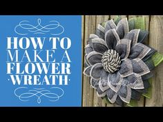I hope you enjoyed learning how to make this Spring or Summer Home Decor Wreath, it was so easy to make and I enjoyed sharing . Burlap Flower Wreaths, Mesh Ribbon Wreaths, Sunflower Wreaths, Deco Mesh Wreaths, Yarn Wreaths, Floral Wreaths, Wreath Crafts, Diy Wreath, Wreath Ideas