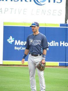 Sean Rodriguez, Tampa Bay Rays Spring Training