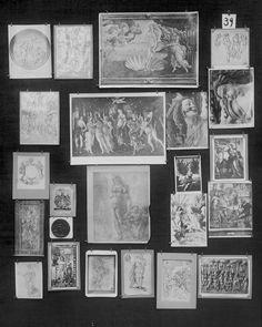 templewhite:  Mnemosyne Atlas, 1920's Aby Warburg