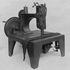 The pictures in this gallery offer a glimpse of sewing machine history and include pictures of early sewing machines available to quilters.